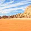 Stock Photo: Wadi Rum desert, Jordan