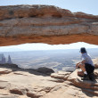 Mesa arch, Canyonlands national park (Utah) — Stock Photo