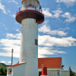 Cap Madeleine lighthouse, Quebec (Canada) — Stock Photo