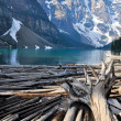 Moraine Lake, Rocky Mountains, Canada — Stock Photo #8638163