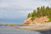 Shore of Forillon national park, Quebec — Stock Photo