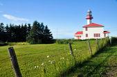 Pointe de mitis latarni, quebec (kanada) — Zdjęcie stockowe