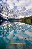 Moraine Lake, Rocky Mountains, Canada — Stock Photo