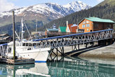 Seward Bay Harbor in Alaska — Stockfoto