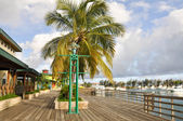 La Guancha boardwalk, Ponce (Puerto Rico) — Stock Photo