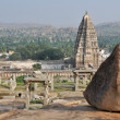 Stock Photo: Virupaksha temple, Hampi (India)