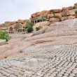 Stock Photo: Ruins in Hampi (India)