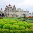Mysore palace, Karnataka, India — Stock Photo