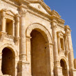 Stock Photo: Hadrian's Arch, Jerash (Jordan)