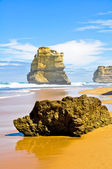 Gibson Steps and the Twelve Apostles, Victoria (Australia) — Zdjęcie stockowe