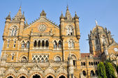 Victoria Terminus Train Station in Mumbai (India) — Stock Photo