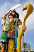 Demon Mahishasura, Chamundi Hill, Mysore, India — Stock Photo