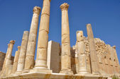 Temple of Zeus, Jerash (Jordan) — Stock Photo
