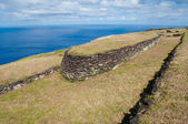 Orongo ruins at Easter island, Chile — Stock Photo