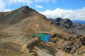 Emerald Lakes in the Tongariro Alpine Crossing, New Zealand — Stock Photo