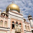 Sultan mosque in Singapore — Stock Photo