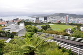 Cable car in Wellington, New Zealand — Stock Photo