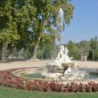 Boticaria fountain at Isla garden, Aranjuez (Madrid) — 图库照片