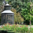 Aviary at Island garden, Aranjuez (Madrid) — Stock Photo