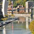 Bilbao from Etxebarria park (Spain) - Stock Photo