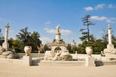 Hercules and Anteo fountain at Parterre garden, Aranjuez (Madrid) — Stockfoto