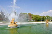 Ceres fountain at Parterre garden, Aranjuez (Madrid) — Stock Photo