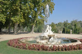 Boticaria fountain at Isla garden, Aranjuez (Madrid) — Stock Photo