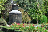 Aviary at Island garden, Aranjuez (Madrid) — Stock Photo