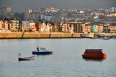 Panoramic view of Getxo, Biscay (Spain) — Stock Photo