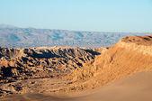 Sunrise at Moon Valley, San Pedro de Atacama (Chile) — Stock Photo
