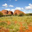 Stock Photo: Olgas, Australidesert