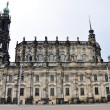Catholic cathedral in Dresden (Germany) - Foto Stock