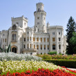 Hluboka nad Vltavou castle, Czech Republic — Stock Photo #9005054
