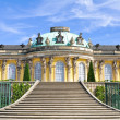 Sanssouci Palace - Potsdam (Germany) — Stock Photo #9006038