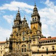 Stock Photo: Cathedral of Santiago de Compostel(Spain)