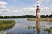 Lighthouse in Moritzburg (Germany) — Stock Photo