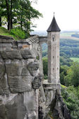 Königstein fortress, Saxony (Germany) — Stock Photo