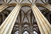 Columns in Meissen cathedral (Germany) — Stock Photo