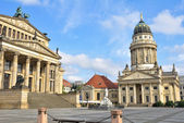 Gendarmenmarkt, Square in Berlin (Germany) — Stock Photo