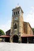 Iglesia de Santa María, Luanco (Asturias-España) — Foto de Stock