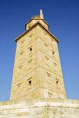 Tower of Hercules lighthouse, La Coruña (Spain) — Stock Photo