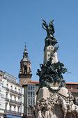 Virgen Blanca square, Vitoria-Gasteiz (Spain) — Stok fotoğraf