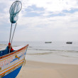 Stock Photo: Boat at kerala, India