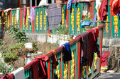 Buddhist monastery , Mcleod Ganj, Northern India — Stock Photo