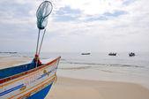 лодка в керала, индия — Стоковое фото