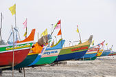Boats at kerala, India — Stock Photo
