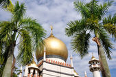 Sultan mosque in Singapore — Stok fotoğraf