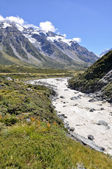 库克山国家公园,新西兰 — 图库照片