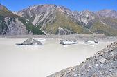 新西兰妓女湖 — 图库照片
