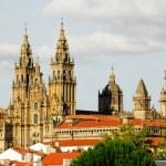 Cathedral of Santiago de Compostela (Spain) — Stock Photo